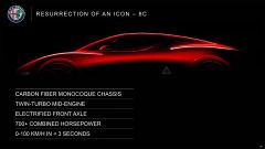 Alfa Romeo, novità a Ginevra 2019: è la concept della 8C?