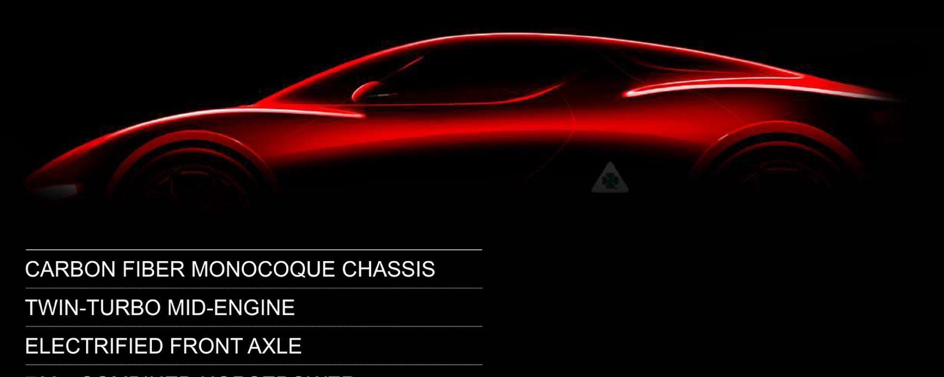 Alfa Romeo, una sorpresa per Ginevra: è la concept della 8C?