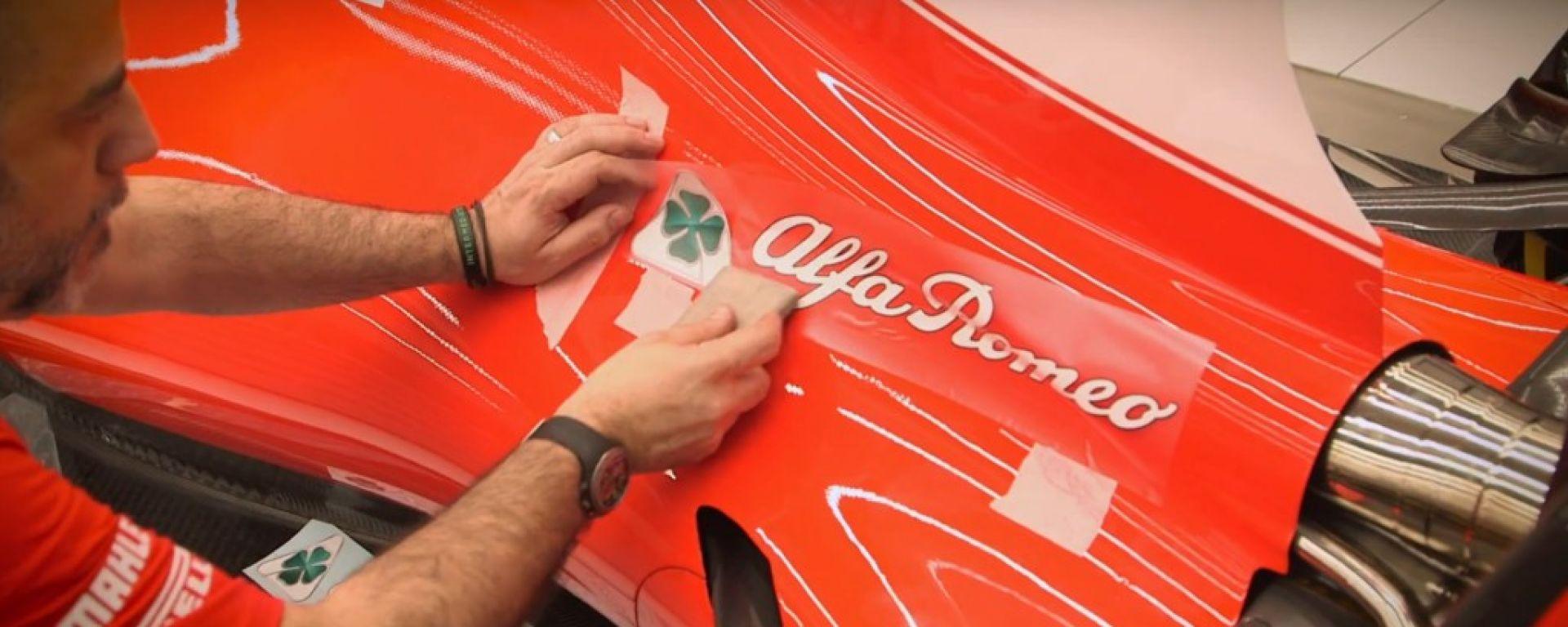 Alfa Romeo sponsor per Sauber con i piloti Ferrari nel 2018