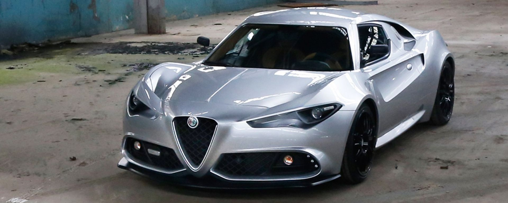 Alfa Romeo Mole Costruzione Artigianale 001 in video