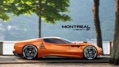 Alfa Romeo Montreal Vision GT: vista dinamica laterale
