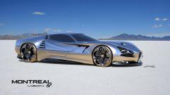Alfa Romeo Montreal Vision GT: vista laterale