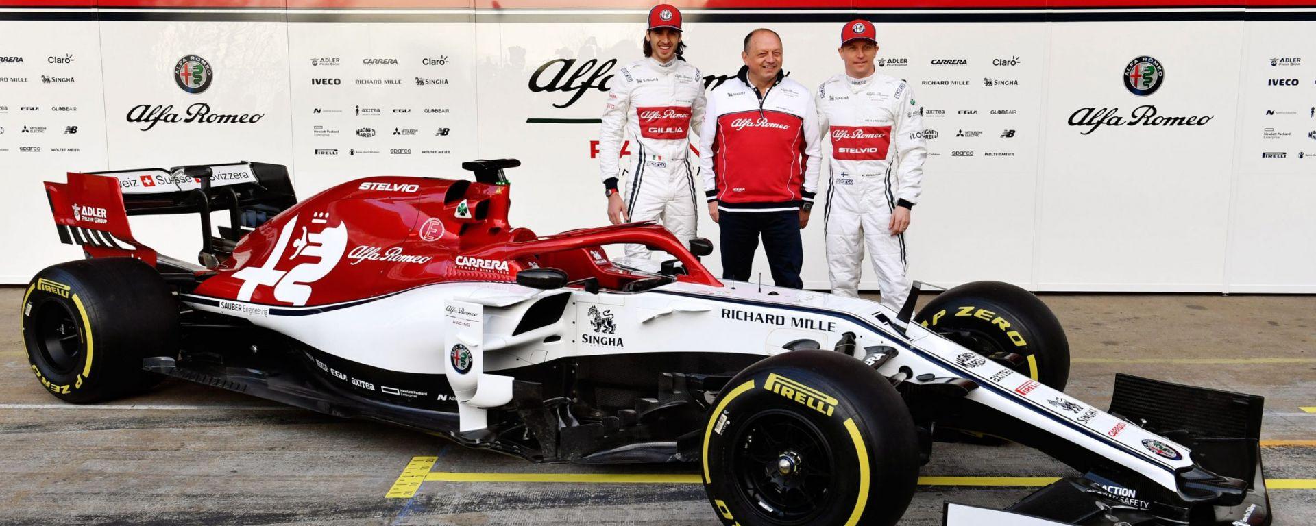 Alfa Romeo Racing F1 2019