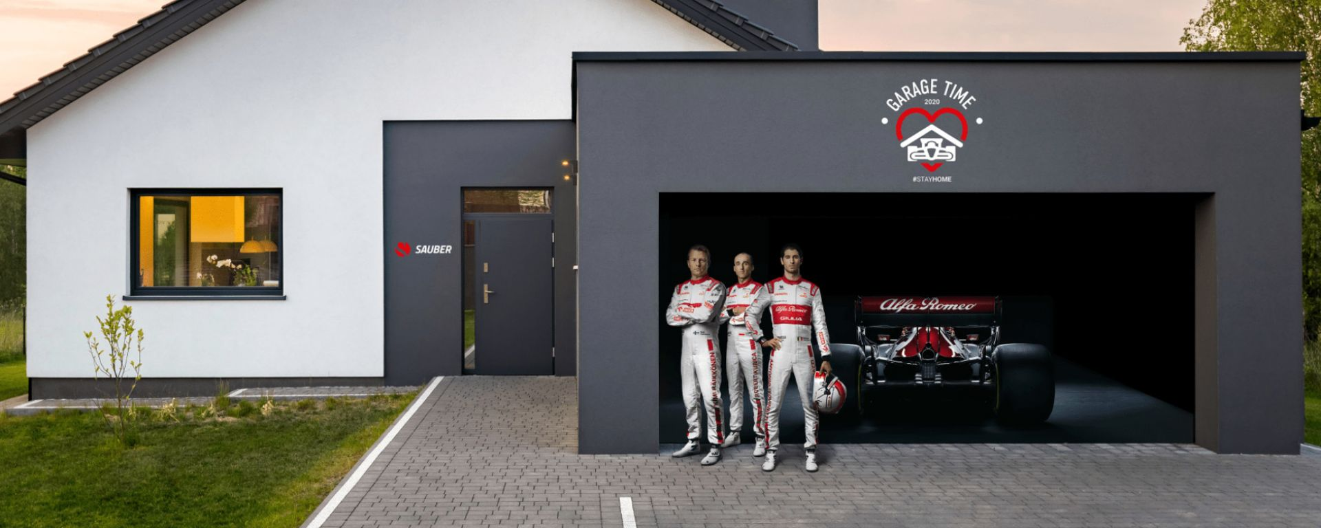 Alfa Romeo Racing Orlen e Save The Children per #GarageTime