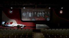 Alfa Romeo Sauber F1 Team, la sala di presentazione