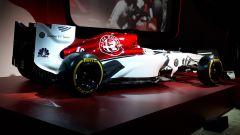 Alfa Romeo Sauber F1 Team, livrea della Sauber C37 2018