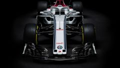 Alfa Romeo Sauber F1 Team - visuale frontale ala
