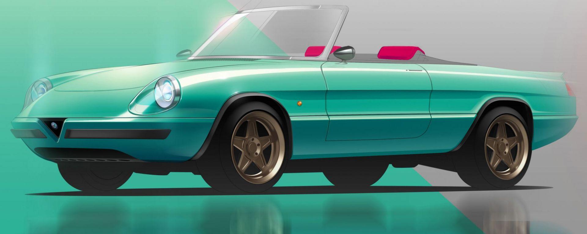 Alfa Romeo Spider: il rendering di Garage Italia