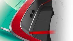 Alfa Romeo Spider: un particolare dell'abitacolo posteriore