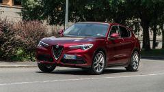 Alfa Romeo Stelvio 200 CV benzina Ti: dinamica di marcia molto piacevole