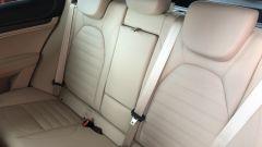 Alfa Romeo Stelvio 200 CV benzina Ti: il divanetto posteriore con schienali divisibili 40:20:40