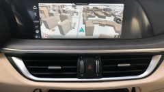 Alfa Romeo Stelvio 200 CV benzina Ti: il touchscreen da 8,8