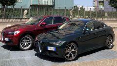 Alfa Romeo Stelvio 200 CV benzina Ti: insieme alla cugina Giulia