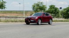 Alfa Romeo Stelvio 200 CV benzina Ti: la nostra prova su strada