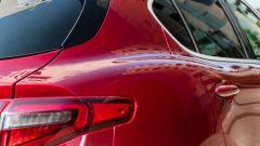 Alfa Romeo Stelvio 200 CV benzina Ti: le forme sinuose della carrozzeria