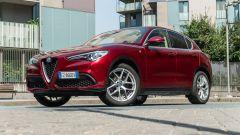 Alfa Romeo Stelvio 200 CV benzina Ti: lo stile non cambia rispetto a prima