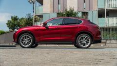 Alfa Romeo Stelvio 200 CV benzina Ti: volumi proporzionati