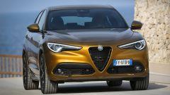 Alfa Romeo Stelvio 2020, il frontale