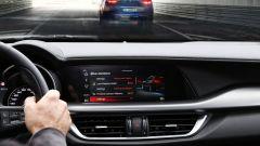 Alfa Romeo Stelvio 2020, nuovo display touchscreen da 8,8 pollici