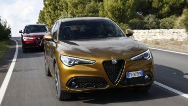 Alfa Romeo Stelvio 2020, prova su strada