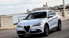 Alfa Romeo Stelvio 2020, vista di 3/4 anteriore