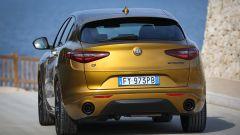 Alfa Romeo Stelvio 2020, vista posteriore