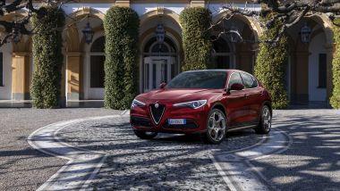 """Alfa Romeo Stelvio """"6C Villa d'Este"""", visuale di 3/4 anteriore"""