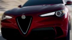 Alfa Romeo Stelvio Quadrifoglio video su strada