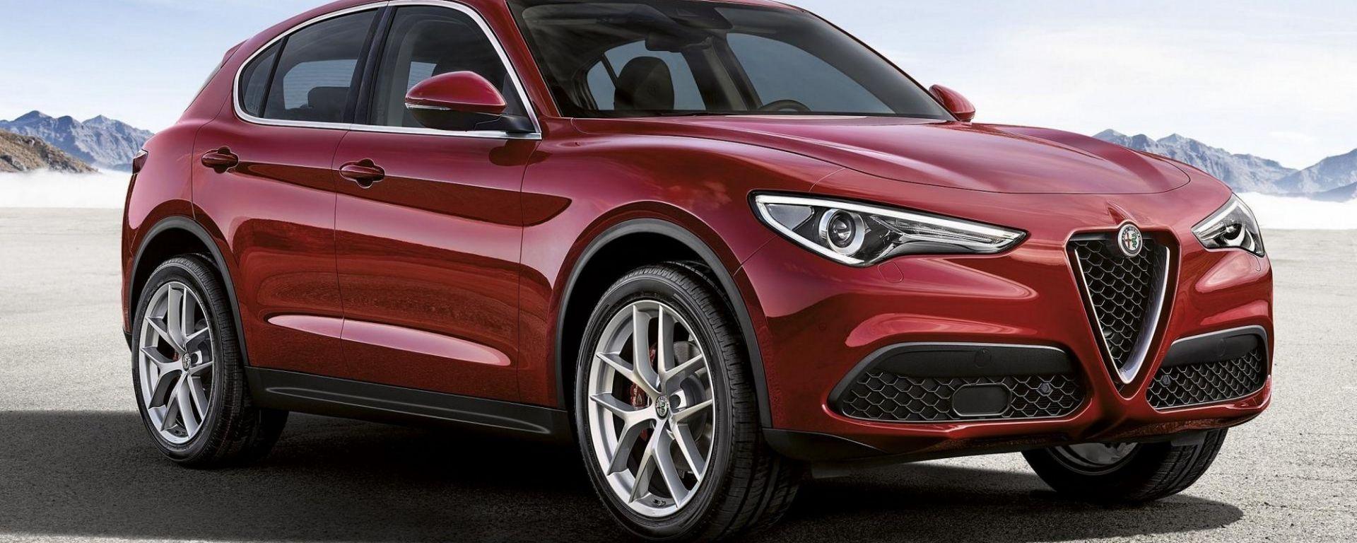 Alfa Romeo Stelvio, diesel più potenti per l'edizione 2019