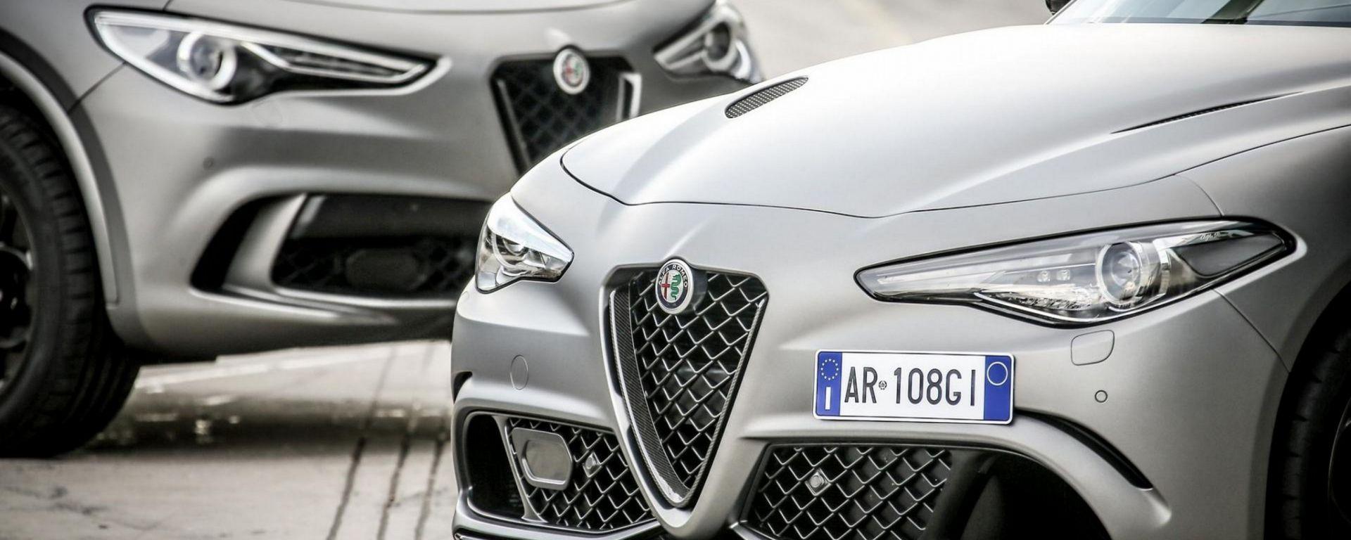 Alfa Romeo Stelvio e Giulia: richiamo per il cruise control