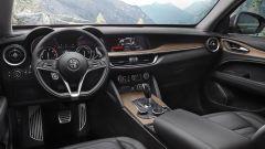 Alfa Romeo Stelvio First Edition, gli interni:navigazione 3D con display ad alta risoluzione da 8,8''