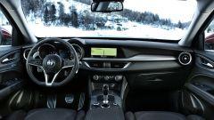 Alfa Romeo Stelvio: gli interni sono quelli della Giulia