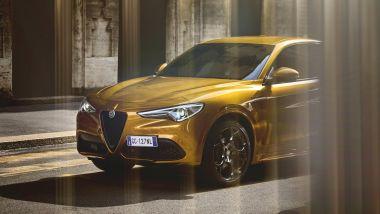 Alfa Romeo Stelvio GT Junior: il frontale