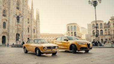 Alfa Romeo Stelvio GT Junior insieme alla sua