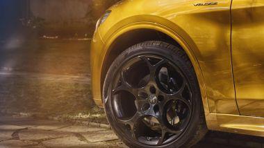 Alfa Romeo Stelvio GT Junior: particolare dei cerchi da 21