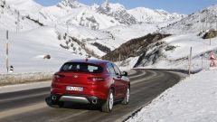 Alfa Romeo Stelvio: la coda è ben proporzionata e sportiva