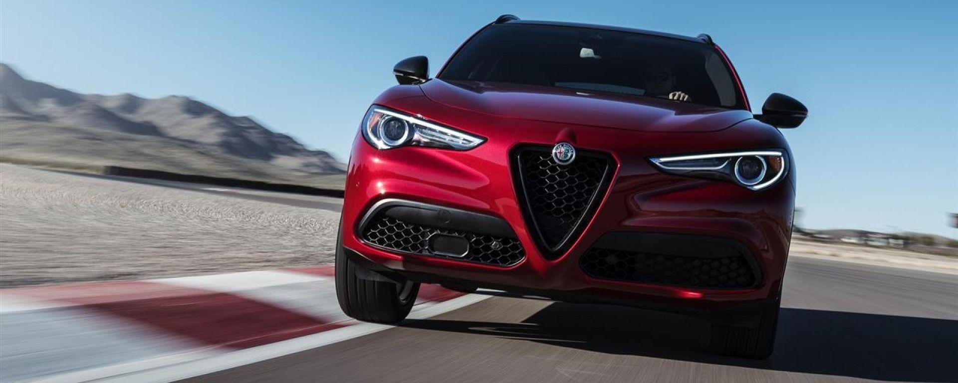 Alfa Romeo Stelvio Nero Edizione: il nero che fa la differenza