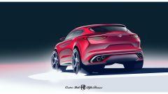 Alfa Romeo Stelvio, posteriore