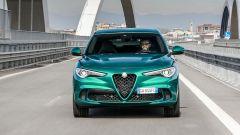 Alfa Romeo Stelvio Quadrifoglio 2020, il frontale