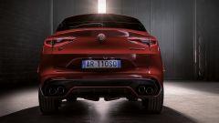 Alfa Romeo Stelvio Quadrifoglio 2020, il posteriore
