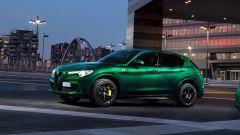 Alfa Romeo Stelvio Quadrifoglio 2020, la fiancata