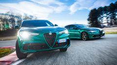 Alfa Romeo Stelvio Quadrifoglio 2020, motore V6 biturbo da 510 cv