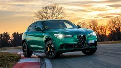 Alfa Romeo Stelvio Quadrifoglio 2020, nuovo colore Verde Montreal