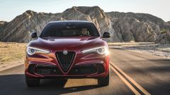 Alfa Romeo Stelvio Quadrifoglio 2020, vista frontale