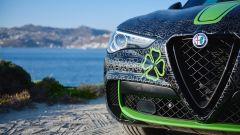 Alfa Romeo Stelvio Quadrifoglio: dettaglio frontale