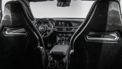 Alfa Romeo Stelvio Quadrifoglio: gli interni