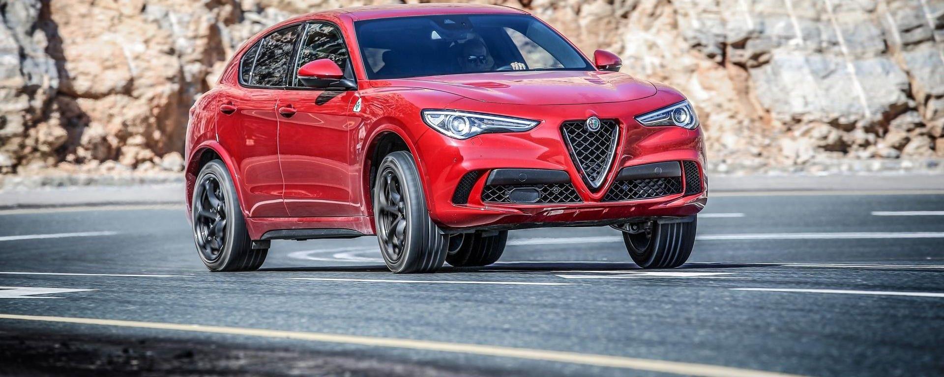 Alfa Romeo Stelvio Quadrifoglio: il più sportivo, ma non il più veloce