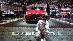 Alfa Romeo Stelvio Quadrifoglio: in video dal Salone di Ginevra 2017 - Immagine: 1