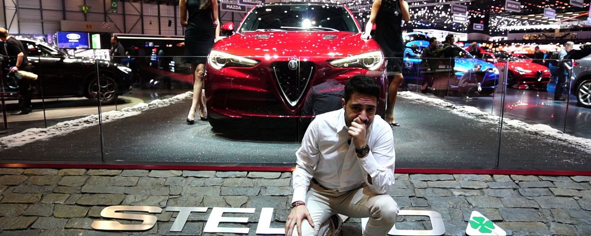 Alfa Romeo Stelvio Quadrifoglio: in video dal Salone di Ginevra 2017