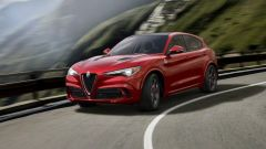 Alfa Romeo Stelvio Quadrifoglio: vista 3/4 anteriore